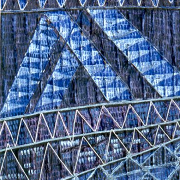 bridge series, blue