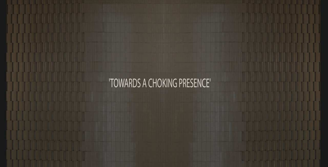 pooja iranna video - towards a choking presence
